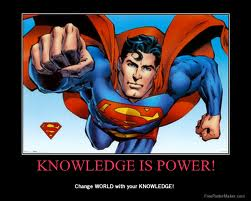 Knowledge is power-Superman
